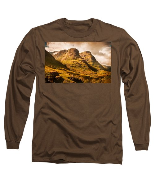 Three Sisters. Glencoe. Scotland Long Sleeve T-Shirt