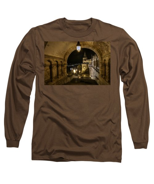 Through The Arch Long Sleeve T-Shirt by Nathan Wright