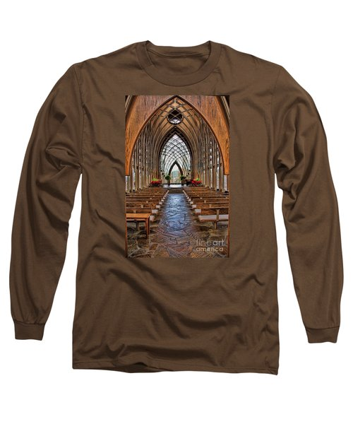 Through These Doors Long Sleeve T-Shirt by Elizabeth Winter