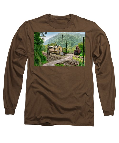 Thurmond After The Rain Long Sleeve T-Shirt by Mary Almond