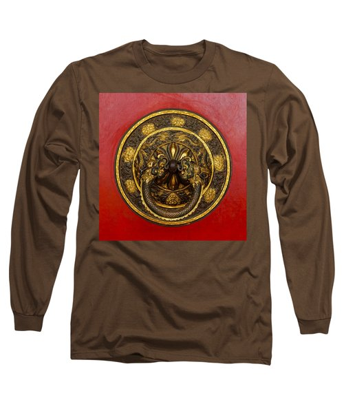 Tibetan Door Knocker Long Sleeve T-Shirt