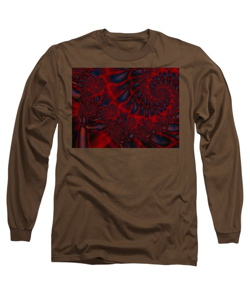 Long Sleeve T-Shirt featuring the digital art Time Slide by Elizabeth McTaggart
