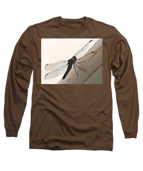 Tiny Magnificence  Long Sleeve T-Shirt by Micki Findlay