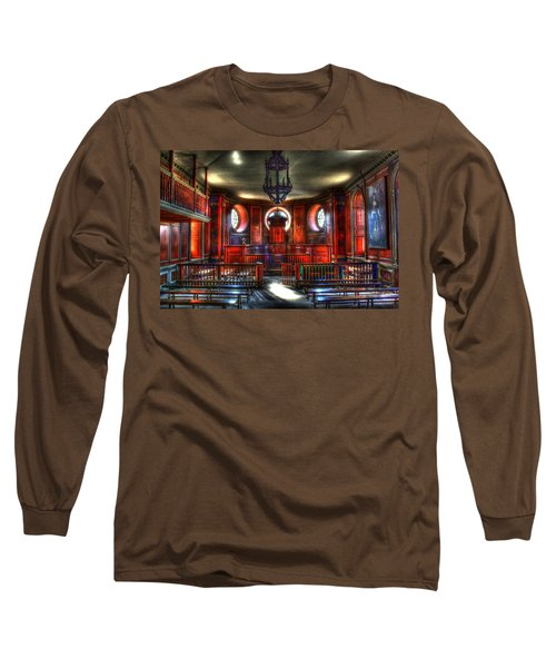 To Be Judged Long Sleeve T-Shirt by Dan Stone