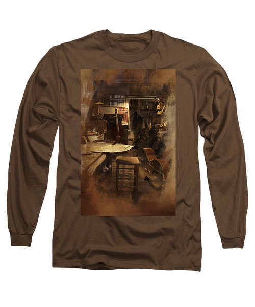 Tobacco Cello Long Sleeve T-Shirt
