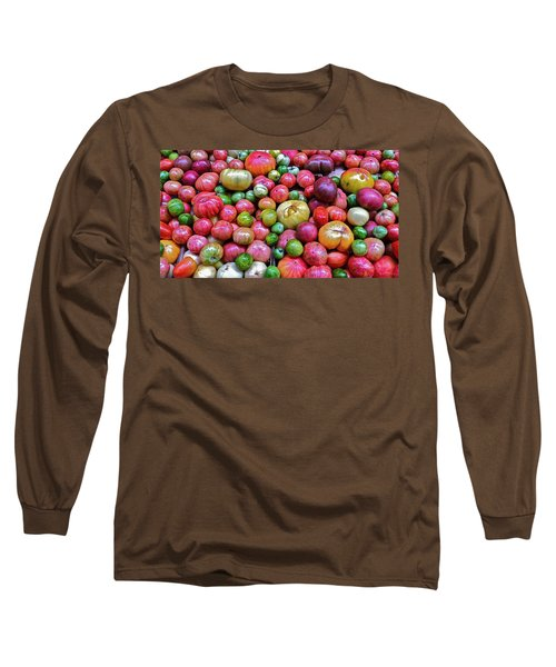 Tomatoes Long Sleeve T-Shirt by Bill Owen