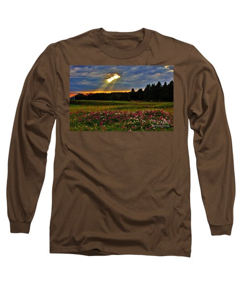 Long Sleeve T-Shirt featuring the photograph Torn Sky by Michael Cross