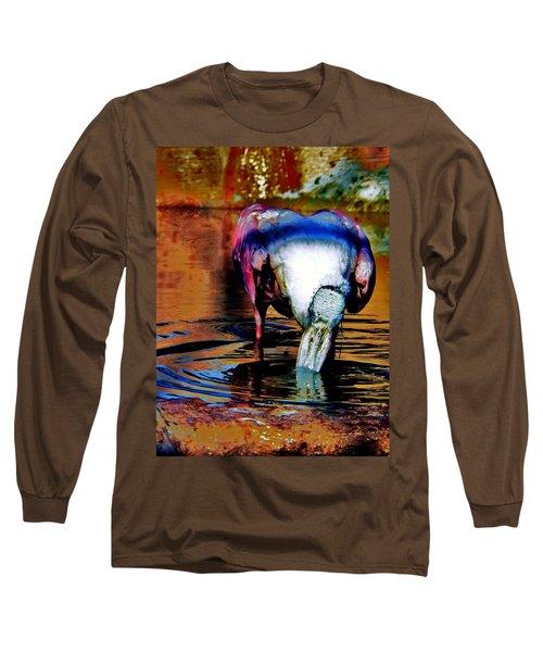 Long Sleeve T-Shirt featuring the photograph Toupee by Faith Williams