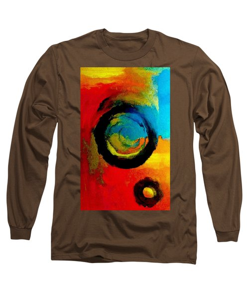 Touring A Parallel Universe Long Sleeve T-Shirt by Lisa Kaiser