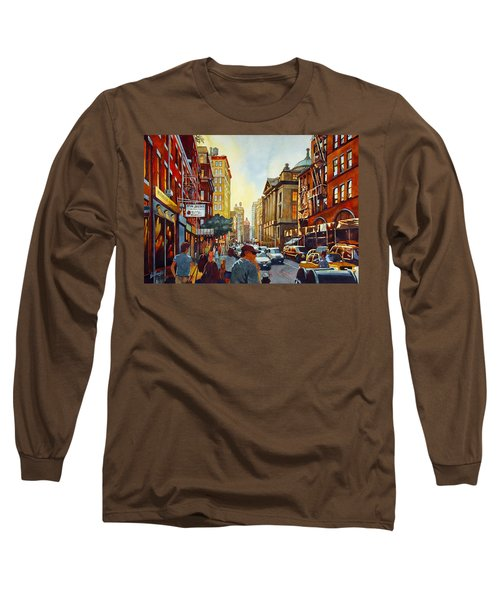 Tourist Season Long Sleeve T-Shirt