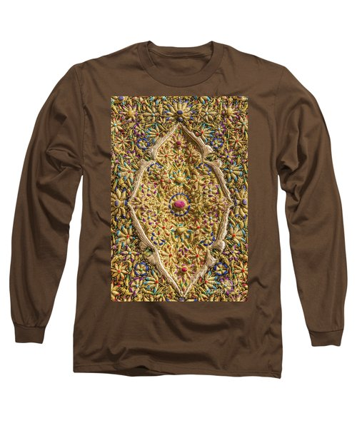 Traditional Embroidery In Jerusalem Israel Long Sleeve T-Shirt