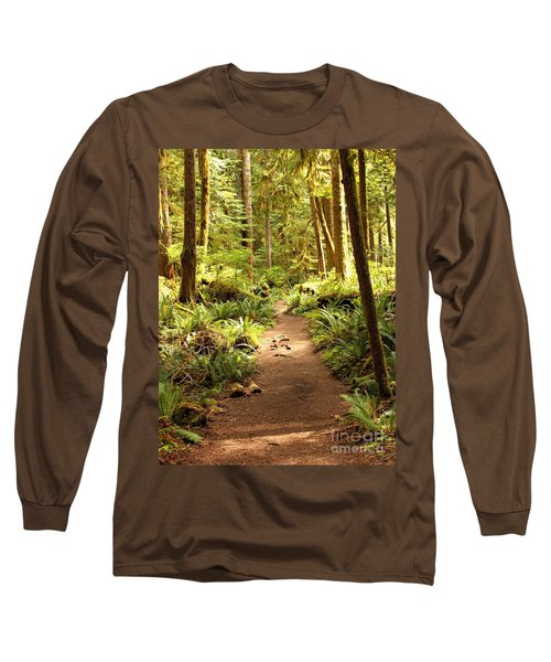 Trail Through The Rainforest Long Sleeve T-Shirt