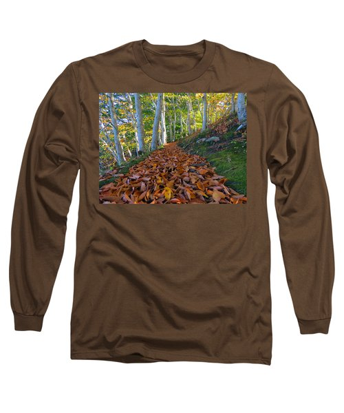 Long Sleeve T-Shirt featuring the photograph Trailblazing by Dianne Cowen
