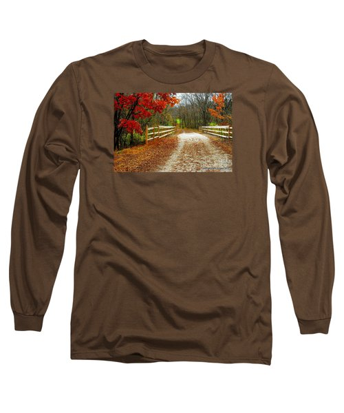 Trailing In Autumn Long Sleeve T-Shirt