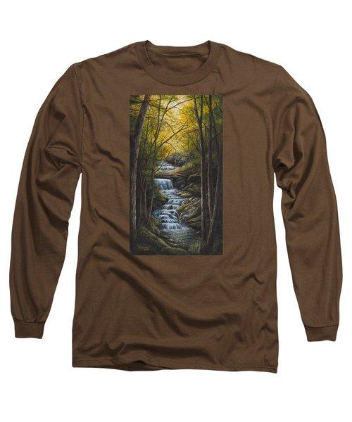 Tranquility Long Sleeve T-Shirt by Kim Lockman