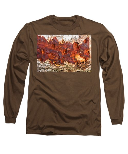 Tree Closeup - Wood Texture Long Sleeve T-Shirt