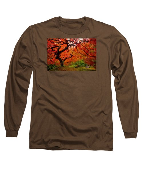 Tree Fire Long Sleeve T-Shirt