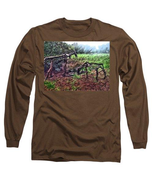 Tree Horse Long Sleeve T-Shirt
