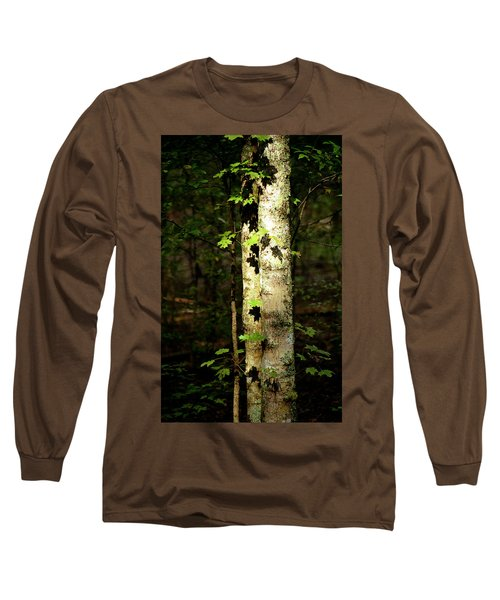 Tree In The Woods Long Sleeve T-Shirt