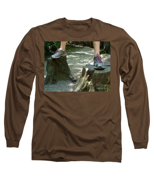 Tree Stump Stilts Long Sleeve T-Shirt