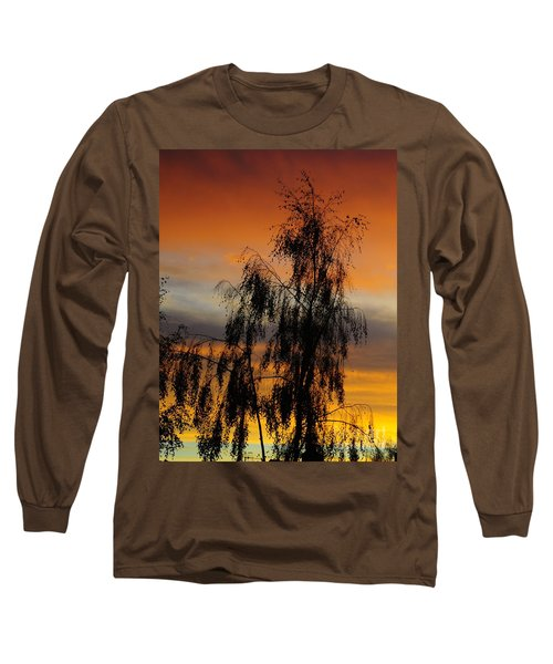 Trees In The Sunset Long Sleeve T-Shirt