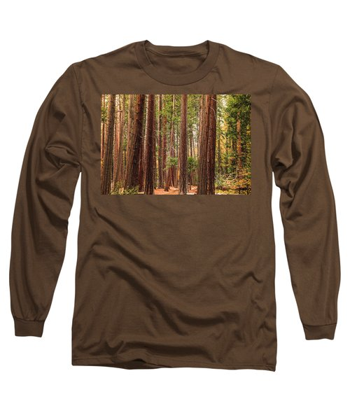 Trees Of Yosemite Long Sleeve T-Shirt
