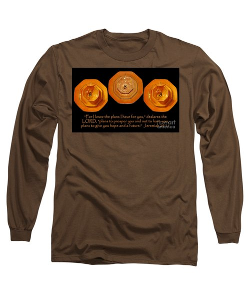 Triple Eight Octagon Saucers With Jeremiah Twenty Nine Eleven On Black Long Sleeve T-Shirt