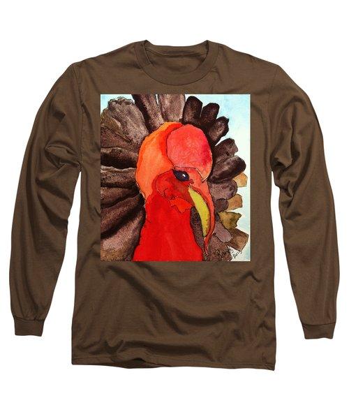 Turkey In Waiting Long Sleeve T-Shirt