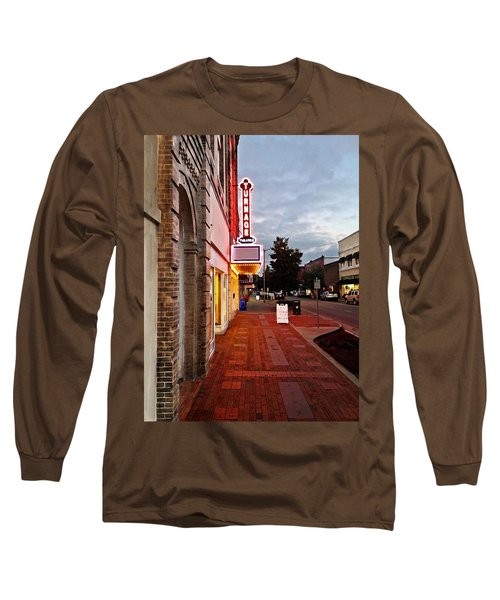 Turnage Theater Grand Opening Long Sleeve T-Shirt