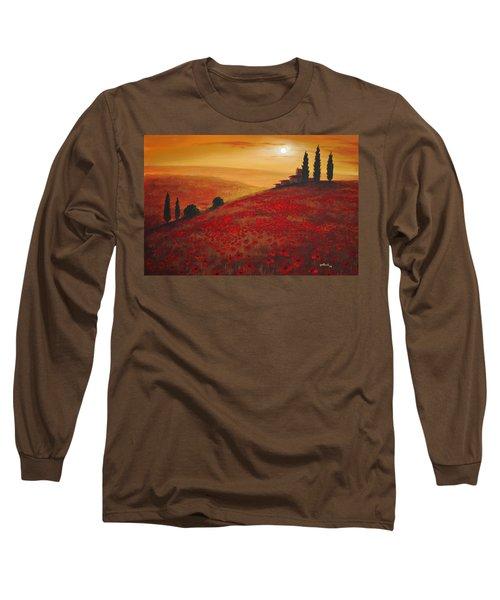 Tuscan Sunset Long Sleeve T-Shirt