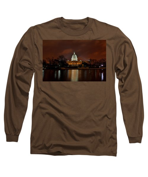 Twilight At The Capitol Long Sleeve T-Shirt