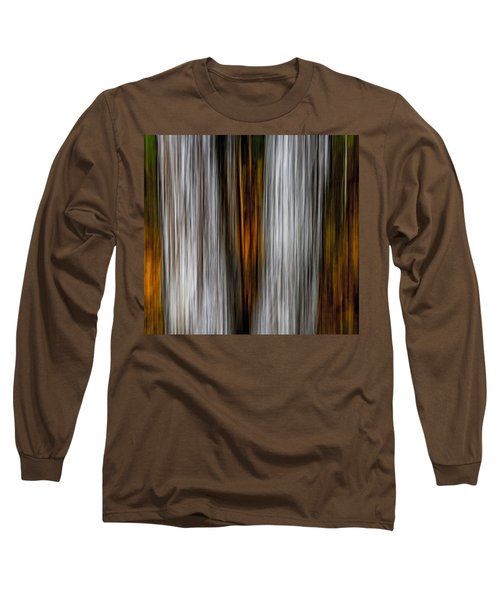 Long Sleeve T-Shirt featuring the photograph Twin Trunks by Darryl Dalton
