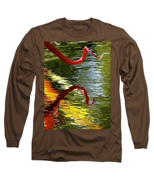 Twisted Ripples Long Sleeve T-Shirt
