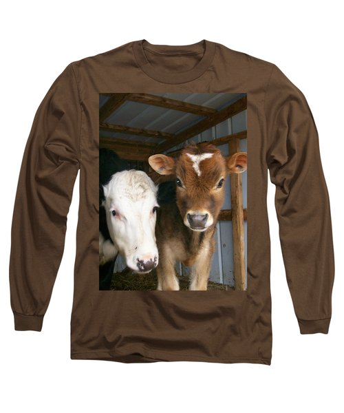 Long Sleeve T-Shirt featuring the photograph Two's Company by Sara  Raber