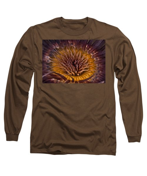 Underwater Flower Long Sleeve T-Shirt