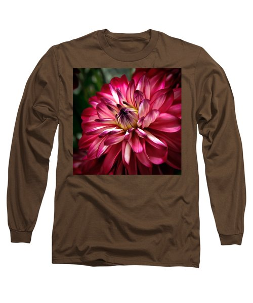 Dahlia Unfolding Long Sleeve T-Shirt