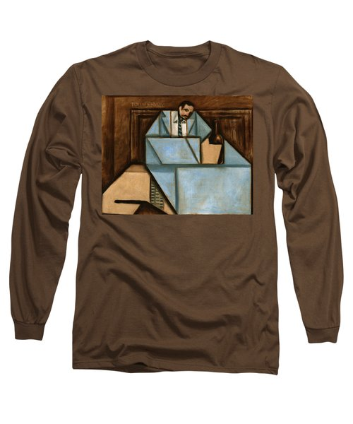 unhappy hour Art print Long Sleeve T-Shirt