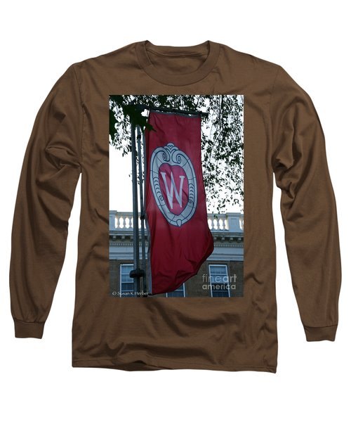Uw Flag Long Sleeve T-Shirt