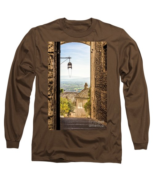 Valley Outside Assisi Long Sleeve T-Shirt