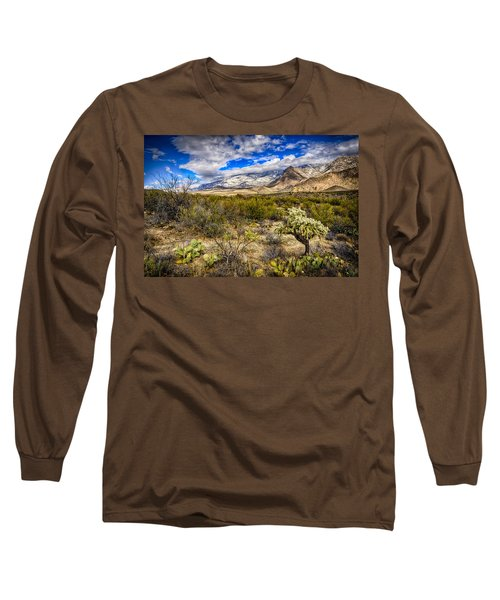 Long Sleeve T-Shirt featuring the photograph Valley View 27 by Mark Myhaver