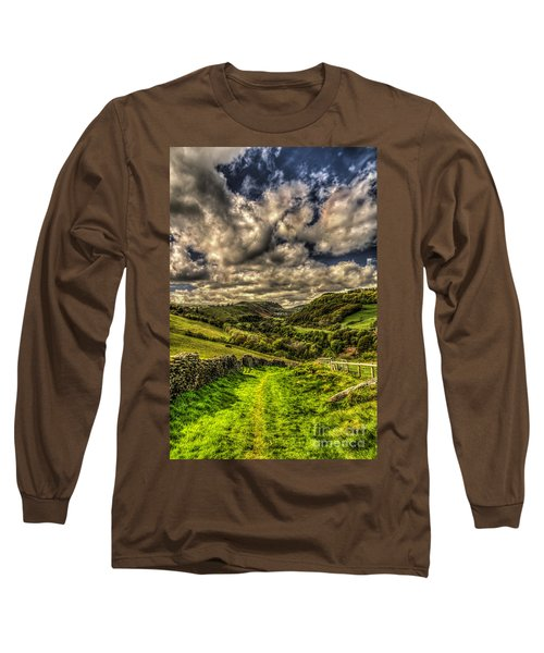 Valley View Long Sleeve T-Shirt by Steve Purnell