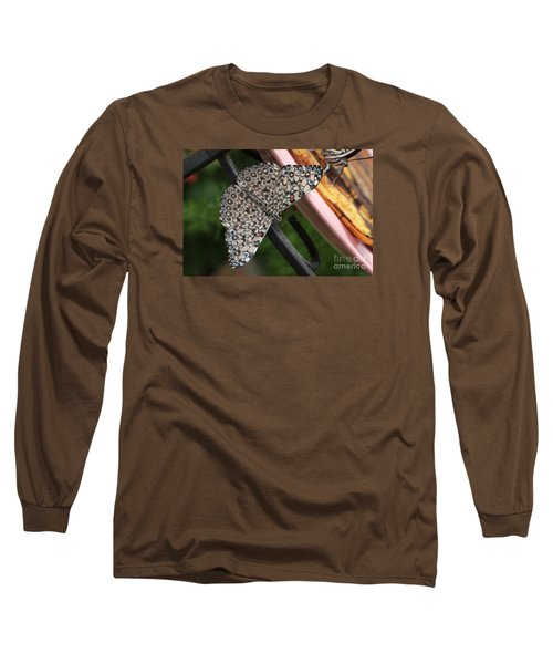 Long Sleeve T-Shirt featuring the photograph Variable Craker Butterfly #2 by Judy Whitton