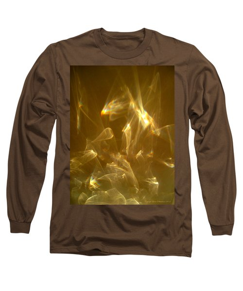 Veils Of Light Long Sleeve T-Shirt by Leena Pekkalainen