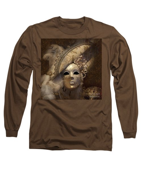 Venetian Face Mask F Long Sleeve T-Shirt