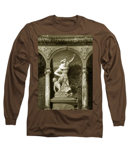 Versailles Colonnade And Sculpture Long Sleeve T-Shirt