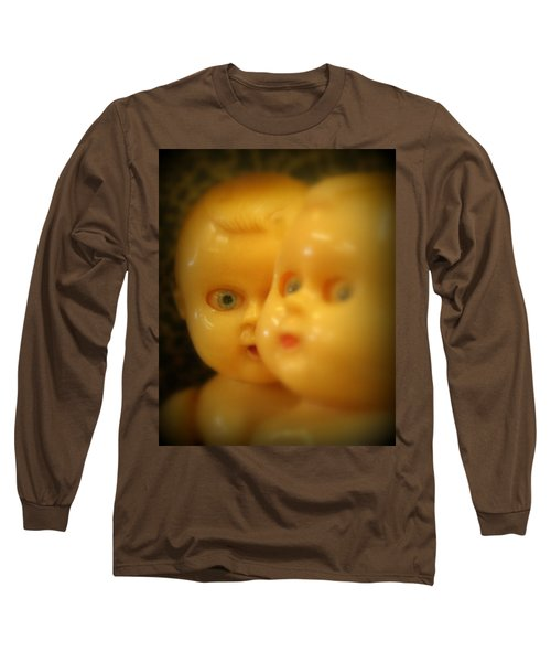 Very Scary Doll Long Sleeve T-Shirt by Lynn Sprowl