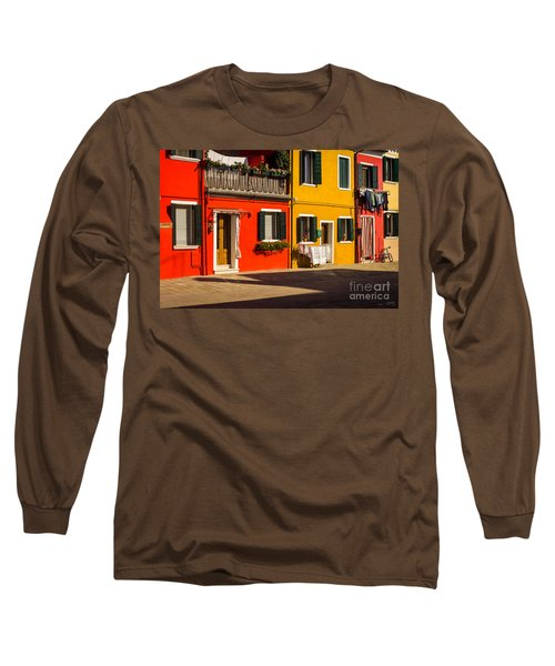 Vibrant Burano Long Sleeve T-Shirt