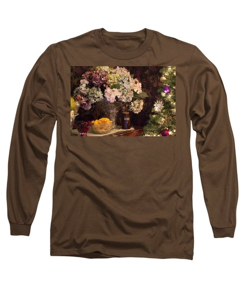 Long Sleeve T-Shirt featuring the photograph Victorian Christmas by Patricia Babbitt