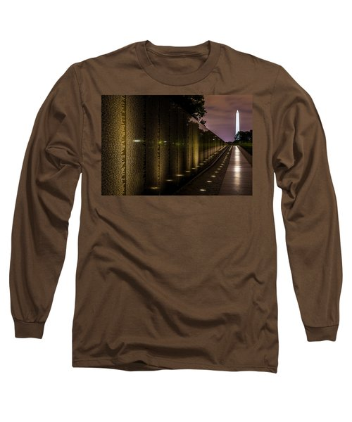 Vietnam Veterans Memorial Long Sleeve T-Shirt