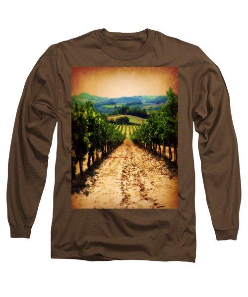 Vigneto Toscana Long Sleeve T-Shirt